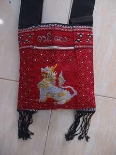 Tas kain tenun asli handmade