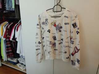 Mickey mouse sweatshirt/long sleeve