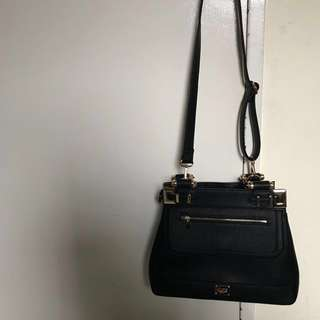 Black Colette tote/side bag (final reduced price)