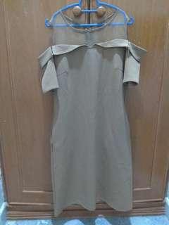 Off Shoulder Dress size m