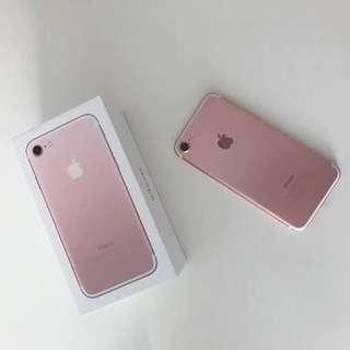 Kredit Iphone 7 128gb Rose New
