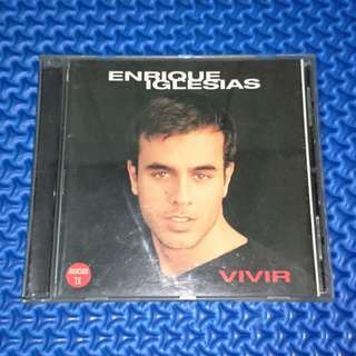🆒 Enrique Iglesias - Vivir [1997] Audio CD