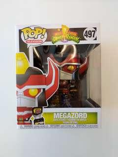 Funko Megazord 6 inch Super Size Metallic Figure