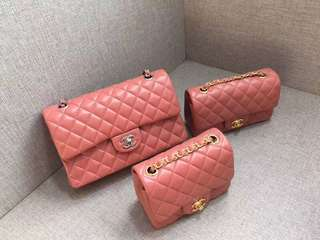 Chanel Flap, Mini Square, Small rectangular, Medium Flap