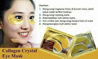 Eye mask collagen