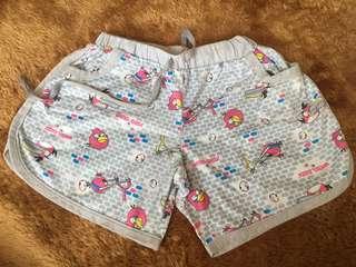 Celana Pendek AngryBird