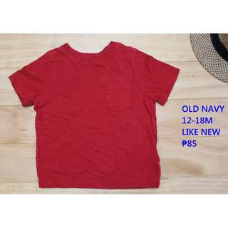 Old Navy Shirt Infant Baby Toddler Clothes 12-18M