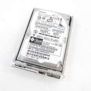 "Sun 540-7355-02 146GB HUC101414CSS300 2.5""SAS 6Gb/s 10K Hard Drive W/Tray"