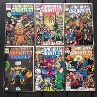 Infinity war marvel universe Infinity gauntlet complete