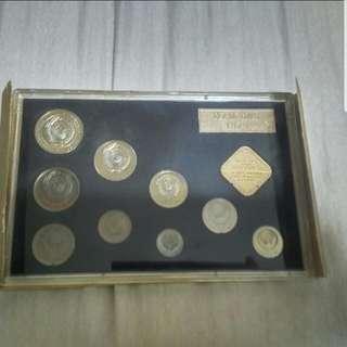 Soviet Union 1978 coin set