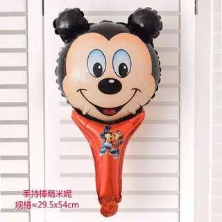 B24 birthday party balloon Mickey handheld