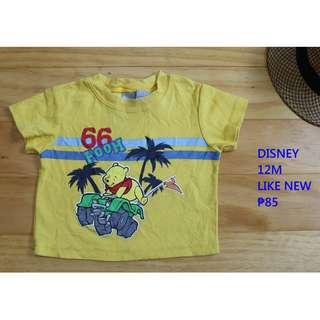 Disney Shirt Infant Baby Toddler Clothes 12M