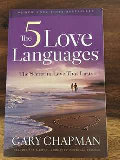 The 5 love languages, Gary Chapman
