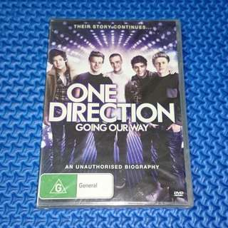 🆕 One Direction: Going Our Way (An Unauthorised Biography) [2013] DVD