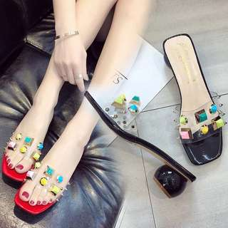 Candy Midi clogs heels