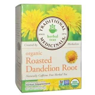 🚚 Traditional Medicinals Herbal Teas - Organic Roasted Dandelion Root