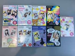 Polariod mini films