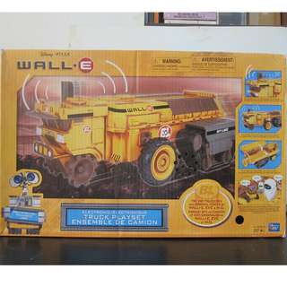 Disney Pixar Wall-E Electronic Truck Playset Thinking Toys NEW