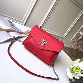 Louis Vuitton lock me Shoulder Bag