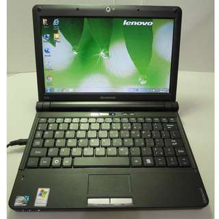 The old IBM Lenovo ideaPad S10 Intel N270/2G/160G 10.1 small laptop (Battery failure)