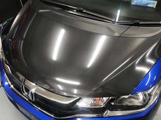 Honda Fit bonnet 6D Carbon fiber wrap!