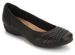 Brand New Black Flats (Clarks) Still Boxed