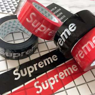 Supreme Sticker/deck sticker/wrap/escoot/escooter