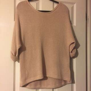 Camel Sweater/Knit