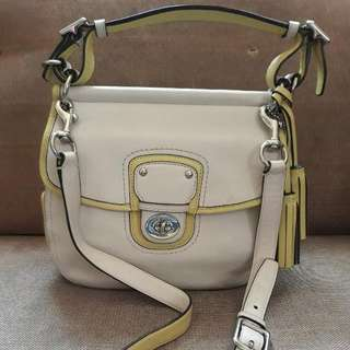 Authentic Coach 2 way Crossbody Bag