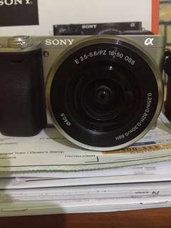 Mirrorless Sony Alpha 6000