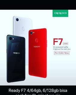 Oppo F7 Limited edition tersedia kredit proses 3menit
