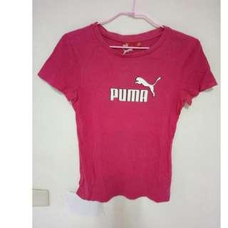 🚚 PUMA 桃紅色上衣  可用郵局小包寄