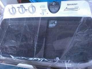 Mesin cuci sharp 2 tabung bisa kredit tanpa dp