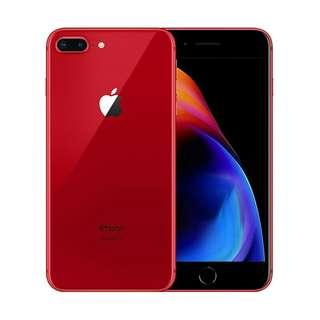 kredit apple iphone 8 plus 256GB RED Edition
