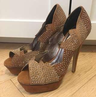 Jeffrey Campbell bling bling high heels