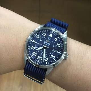 Orient Flight Blue Dial Automatic