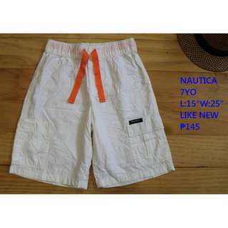 Nautica Shorts Infant Baby Toddler Clothes 7YO