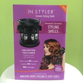 【平讓專業捲髮器】InStyler Heated Ceramic Hair Styling Shells 《100% Brand New》化妝師/髮型師/造型師必備電髮捲!
