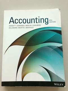 Accounting 9th Edition