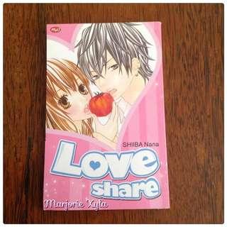 Komik One Shot - Love Share - Shiiba Nana