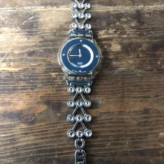 Authentic Swatch Swarovski Watch Fossil