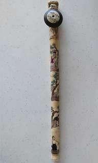Old bone Opium pipe