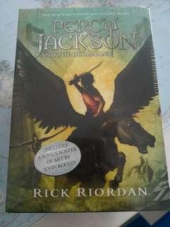 Brand new Percy Jackson & the Olympians