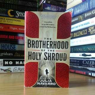 the brotherhood of The holy shroud -  Julia navarro