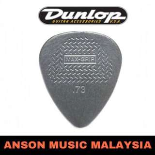 Jim Dunlop 449B.73 Max-Grip Standard Guitar Pick