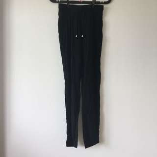 Cotton On Black Harem Pants