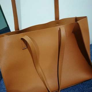 Glassons Tan Tote Bag