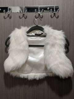 New White Fur Jacket