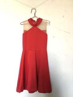 Dress Merah / Cheongsam