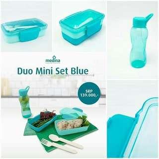 Duo mini set blue / pink